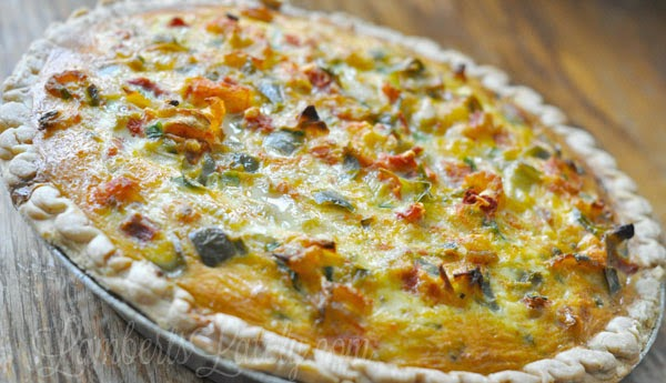 This cajun crawfish quiche recipe is an amazing deep south dish that combines a flaky crust and the spicy flavors of Mardi Gras.  Almost like a pot pie - amazingly delicious!