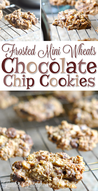 Frosted Mini Wheats Chocolate Chip Cookies || Crunchy Cookie Sweet Dessert Idea Recipe